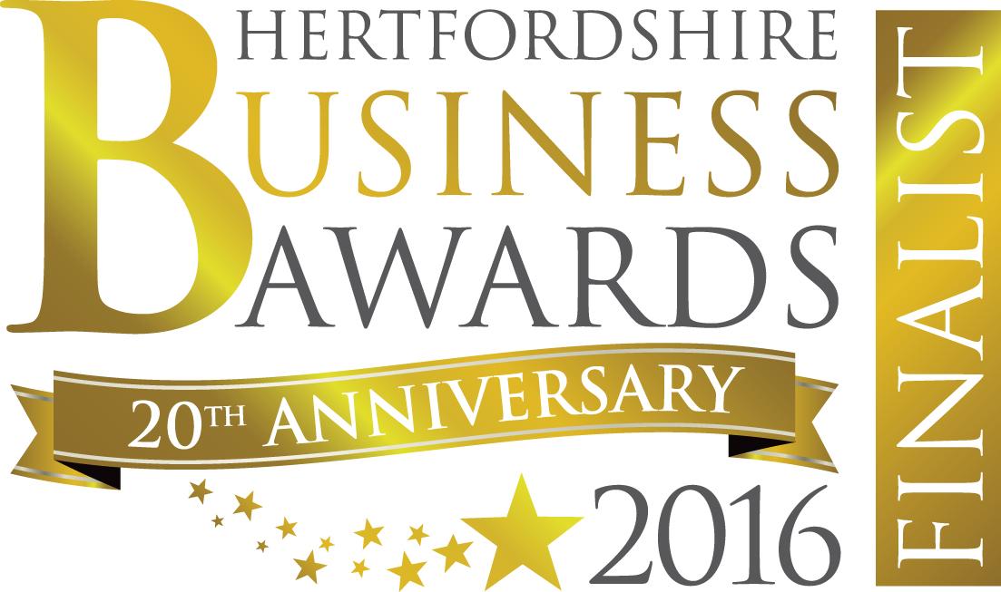 Hertfordshire Business Awards 2016 – Finalist